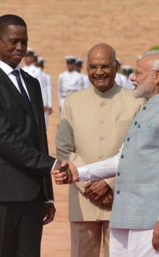 印度 赞比亚签署了6项协议 加强国防矿产资源合作
