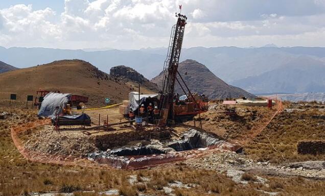 Tinka提供Ayawilca PEA研究位于秘鲁中部利马东北200公里的全资Ayawilca项目的硫化锌矿床