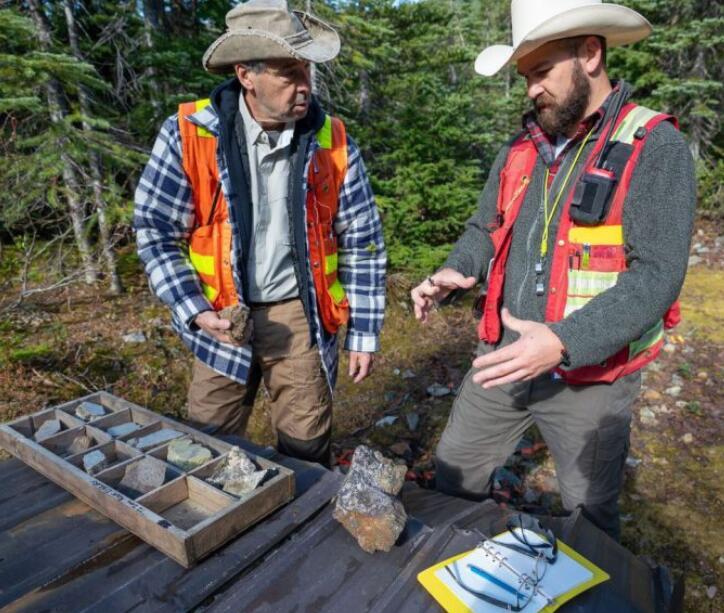 在不列颠哥伦比亚省纽蒙特湖项目 水晶湖的交叉面积为15.11克吨黄金